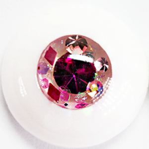 Fuchsia & Diamond ▶ 14mm